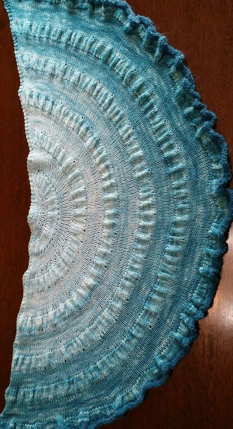 Easy Shawl Knitting Patterns | Chal, Capa tejida y Giro
