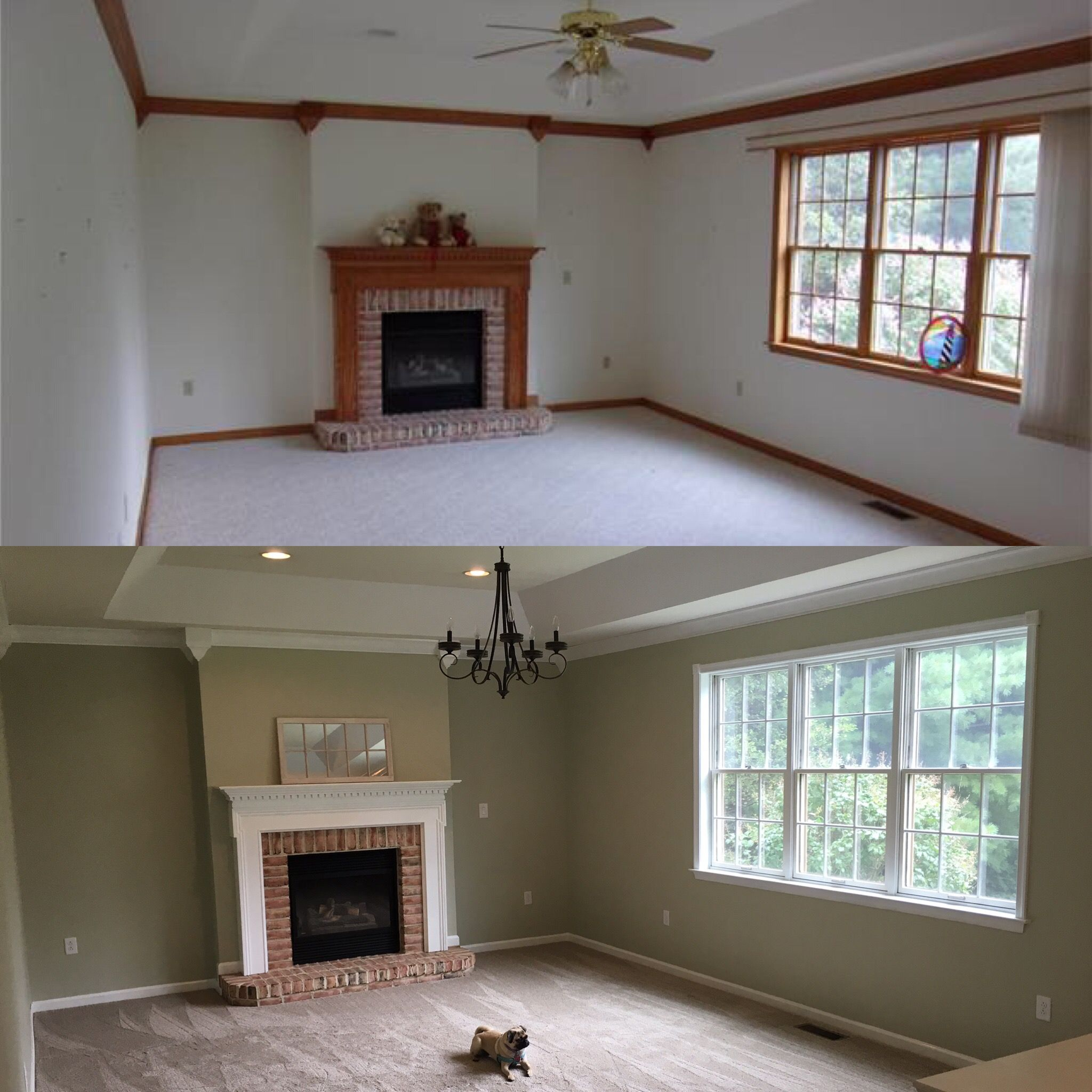 My Family Room Transformation We Used Stix Primer On All
