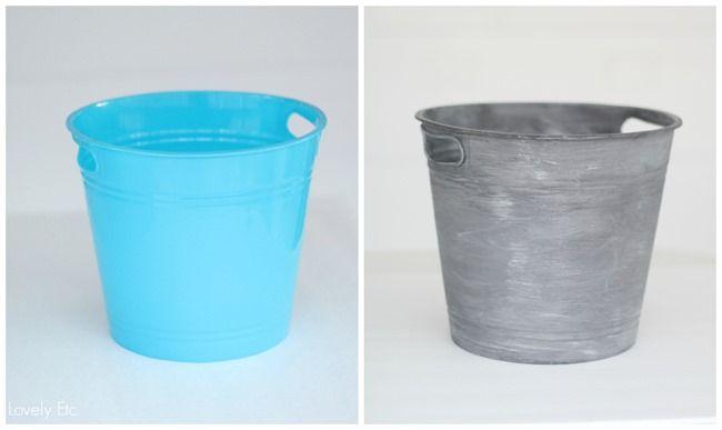 Dollar Store Bins Into Stylish Storage Using Paint Painting Plastic Diy Crafts Vintage Diy Dollar Store Crafts