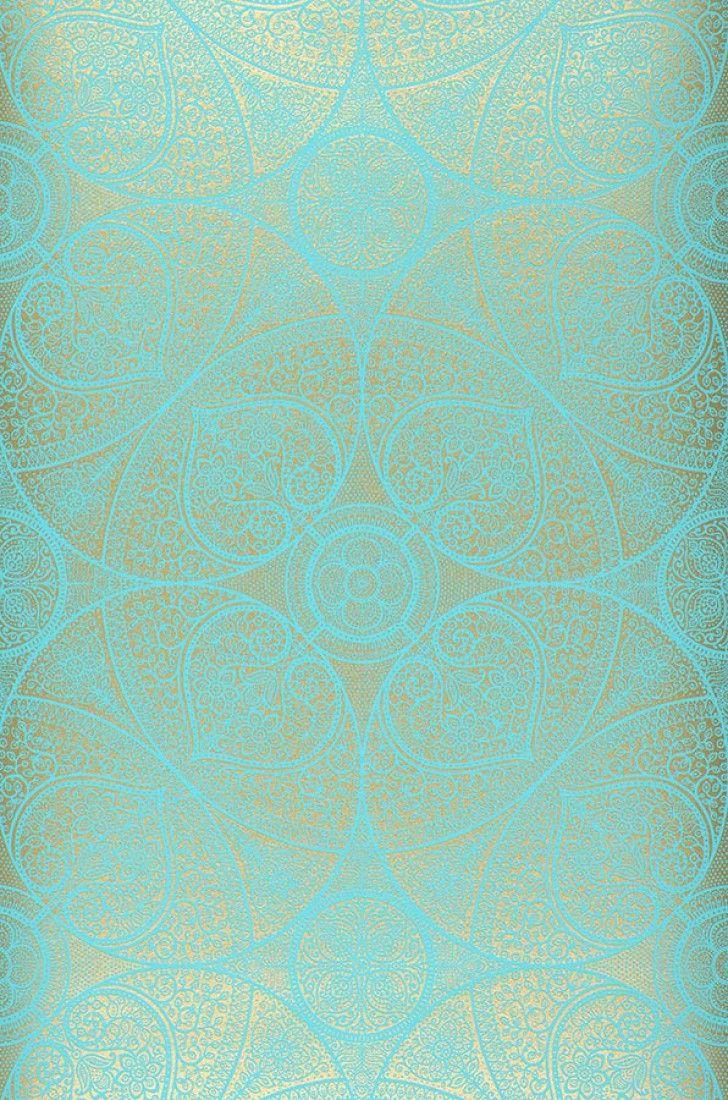 Kassandra | Pattern wallpaper, Wallpaper and Turquoise wallpaper