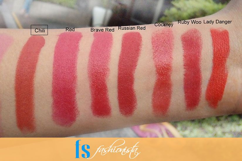 Lipstick Shades For Different Skin Tones