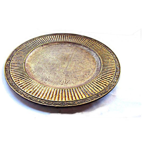 Copper decor. Decorative plate. Large plate. Wood plate. Copper plate. (  sc 1 st  Pinterest & Copper decor. Decorative plate. Large plate. Wood plate. Copper ...