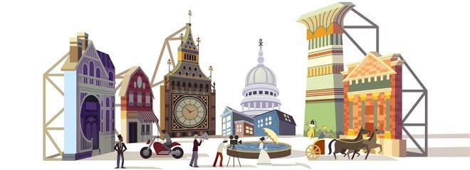 Cinecittà's 77 anniversary 77th anniversary, Doodles