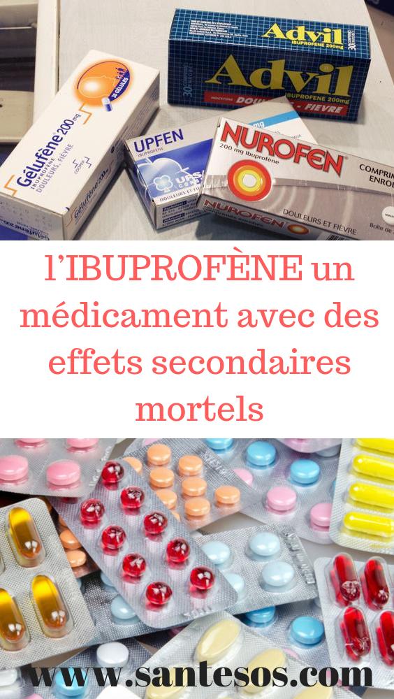 L Ibuprofene Un Medicament Avec Des Effets Secondaires Mortels Ibuprofene Medicament Antidoleurs