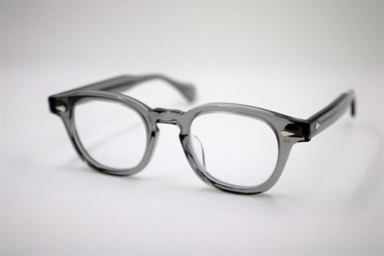 927dc04b26e3 BRAND : JULIUS TART OPTICAL MODEL : AR SIZE : 42   44   46□22-145 COLOR :  Grey Crystal PRICE : ¥37