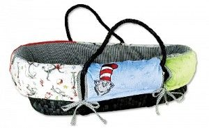 Dr. Seuss Cat in the Hat Moses Basket Set $79.99