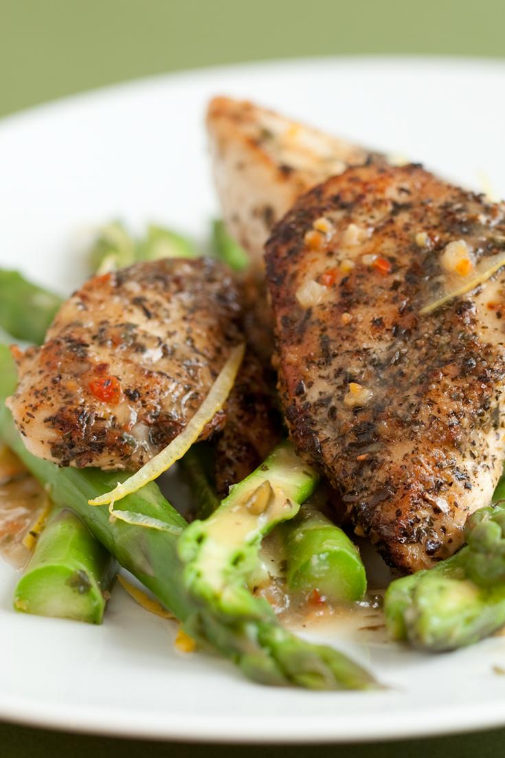 #Epicure Lemon Chicken with Asparagus
