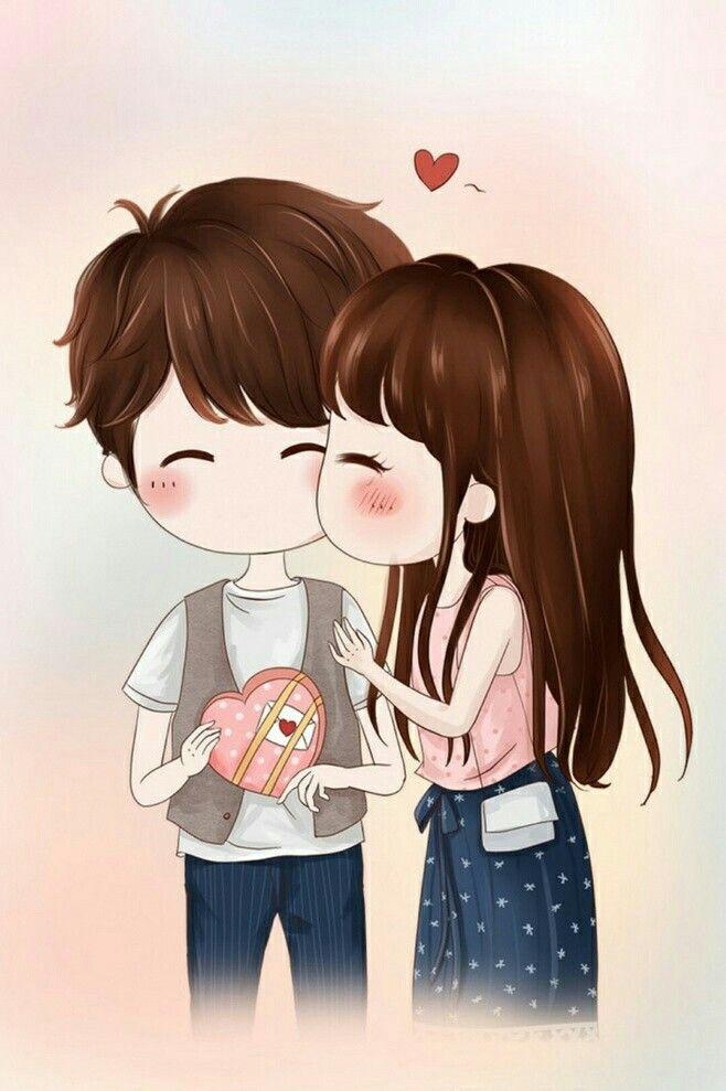 Mera Dil Tery Hiwaly Anime Love Cartoon Couple Cute Couple