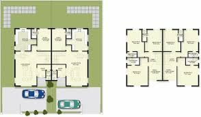 Image Result For House Plans For 2 Bedroom Semi Detached Bungalow House Plans Semi Detached New Homes