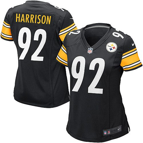 300e34fd7 Nike Limited Womens Pittsburgh Steelers #92 James Harrison Team Color Black NFL  Jersey$79.99
