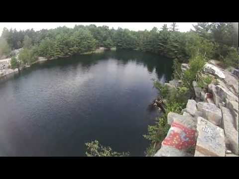 Cliff Jumping At The Westford Quarry Mass Cliff Jumping Westford Places