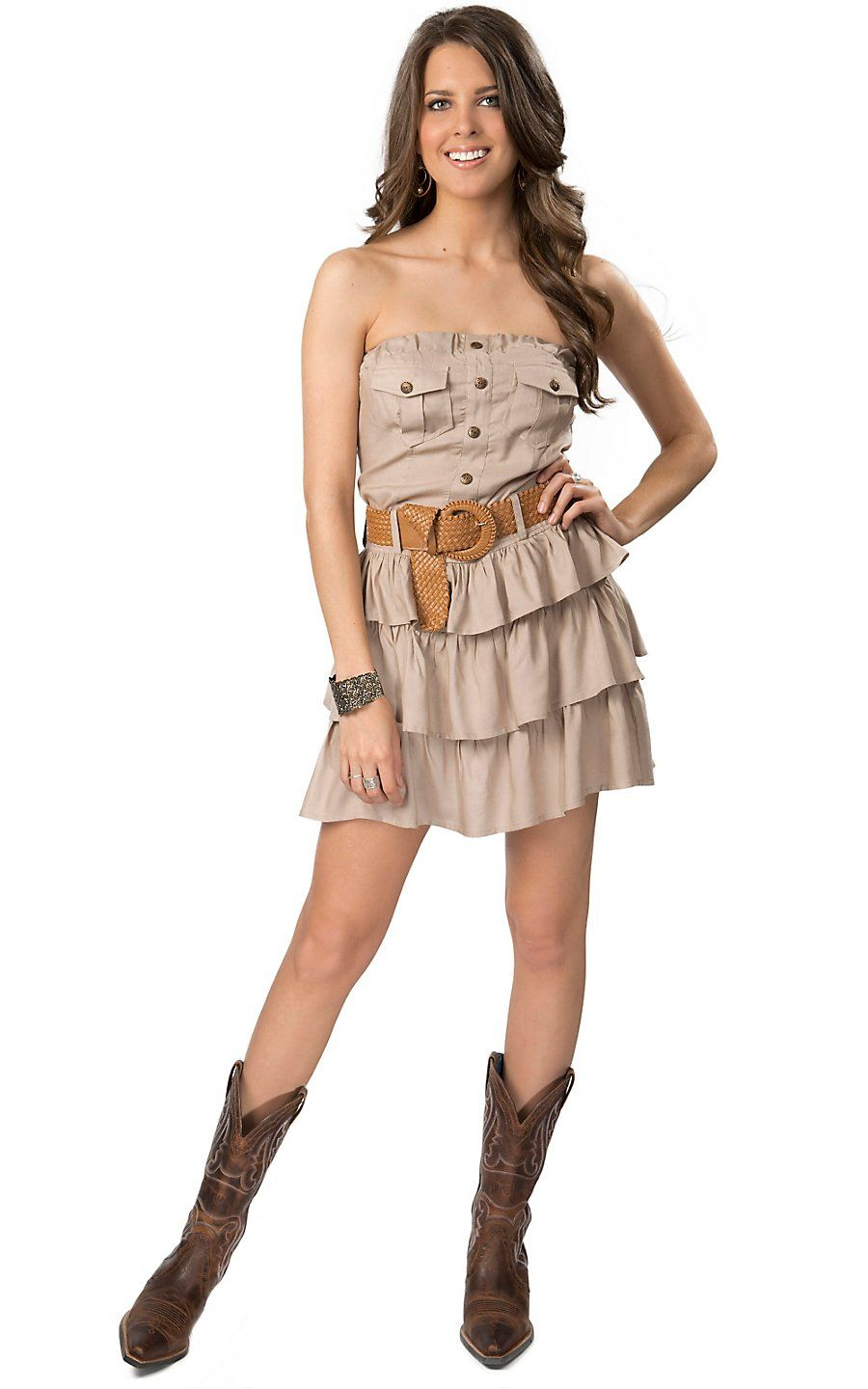 Country fashion dresses and skirts