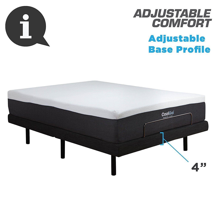 buy home life electric adjustable split king platform bed frame insert 2 remotes new at online store