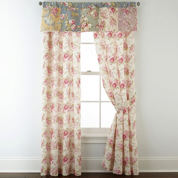 Home ExpressionsTM Rosemond 2 Pack Curtain Panels