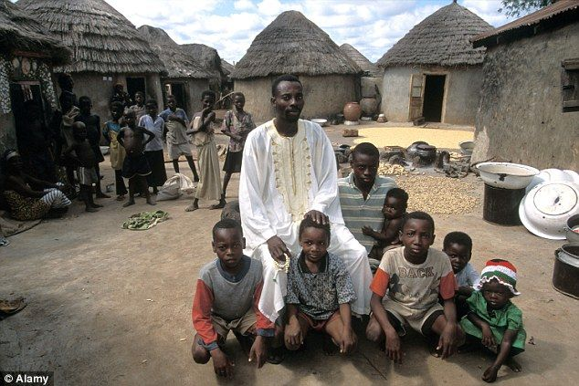 The African village where EVERY family gets £7,500 spent ... Poor African Villages