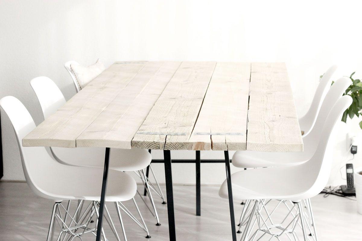 Tafel steigerhout steigerhouten tafel diy zelfgemaakt houten