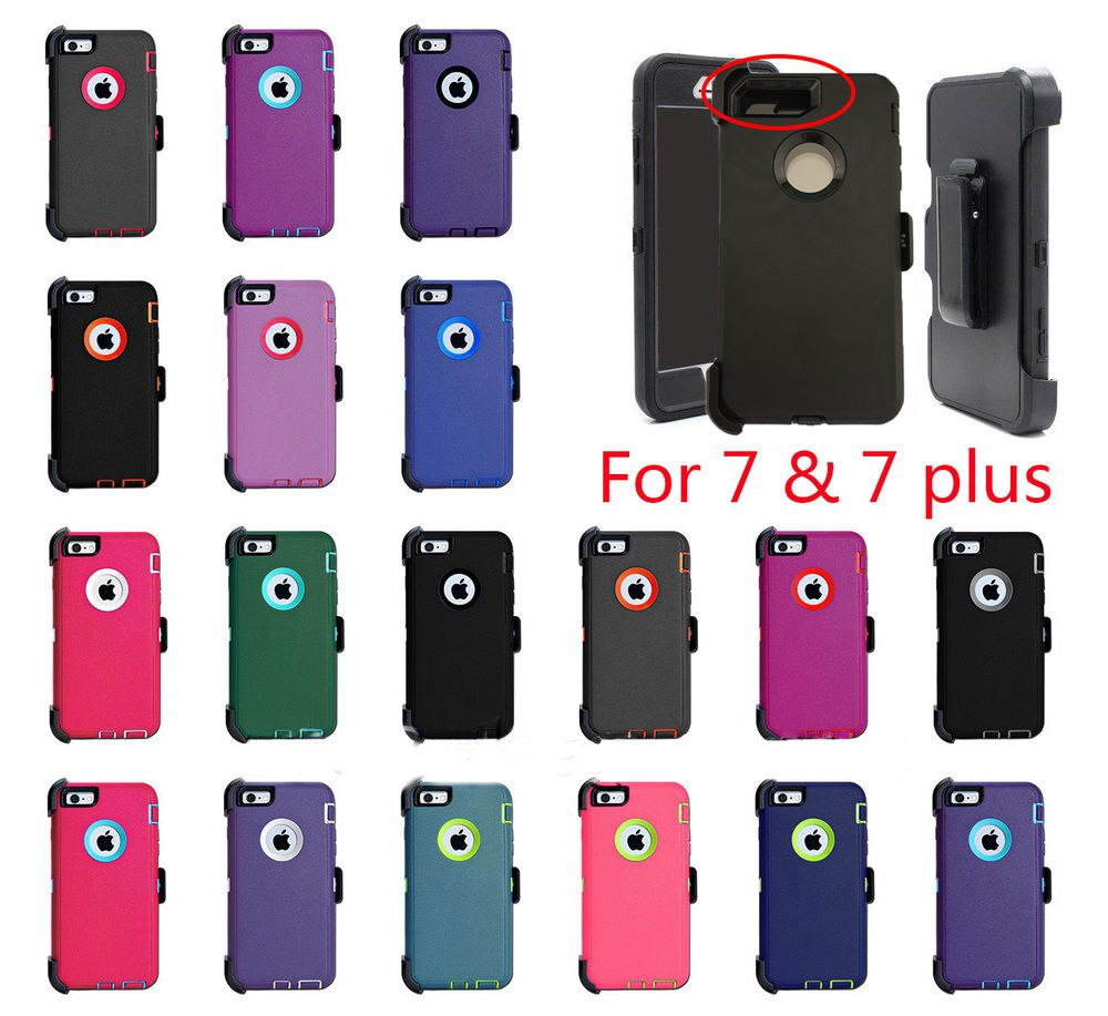 sports shoes 30476 63219 For iPhone X 8 7 Plus 6S Plus 6 Case Cover {Belt Clip fits Otterbox ...