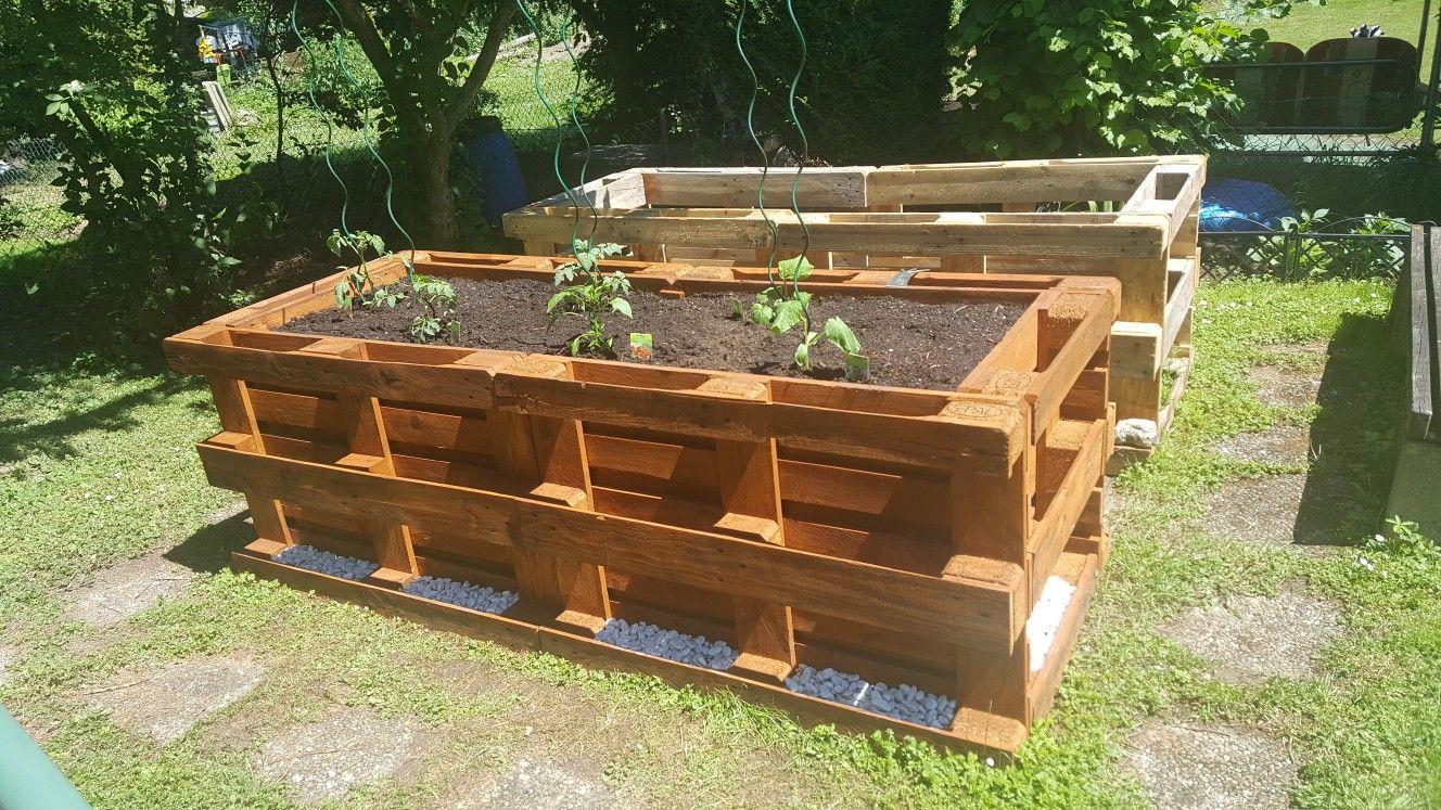 Hochbeet #woodengardenplanters