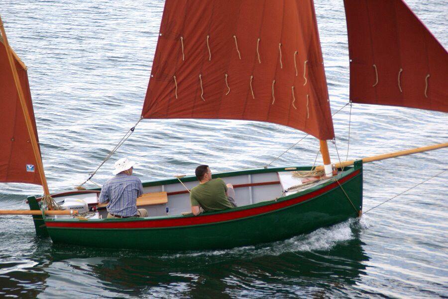Ebihen 15 By Francois Vivier Wood BoatsSail