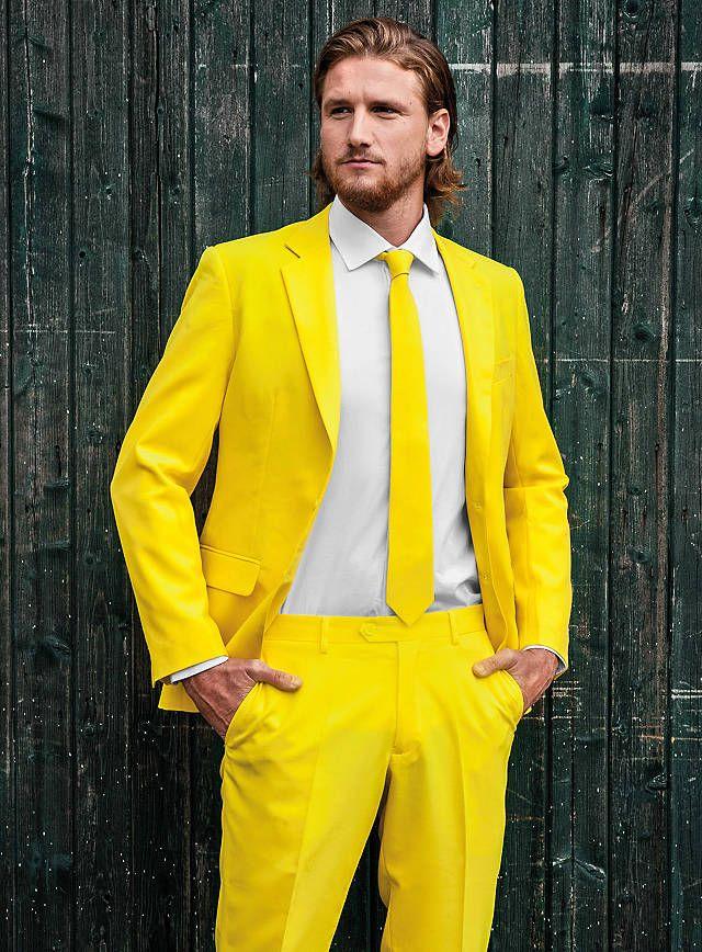 OppoSuits Yellow Fellow Anzug