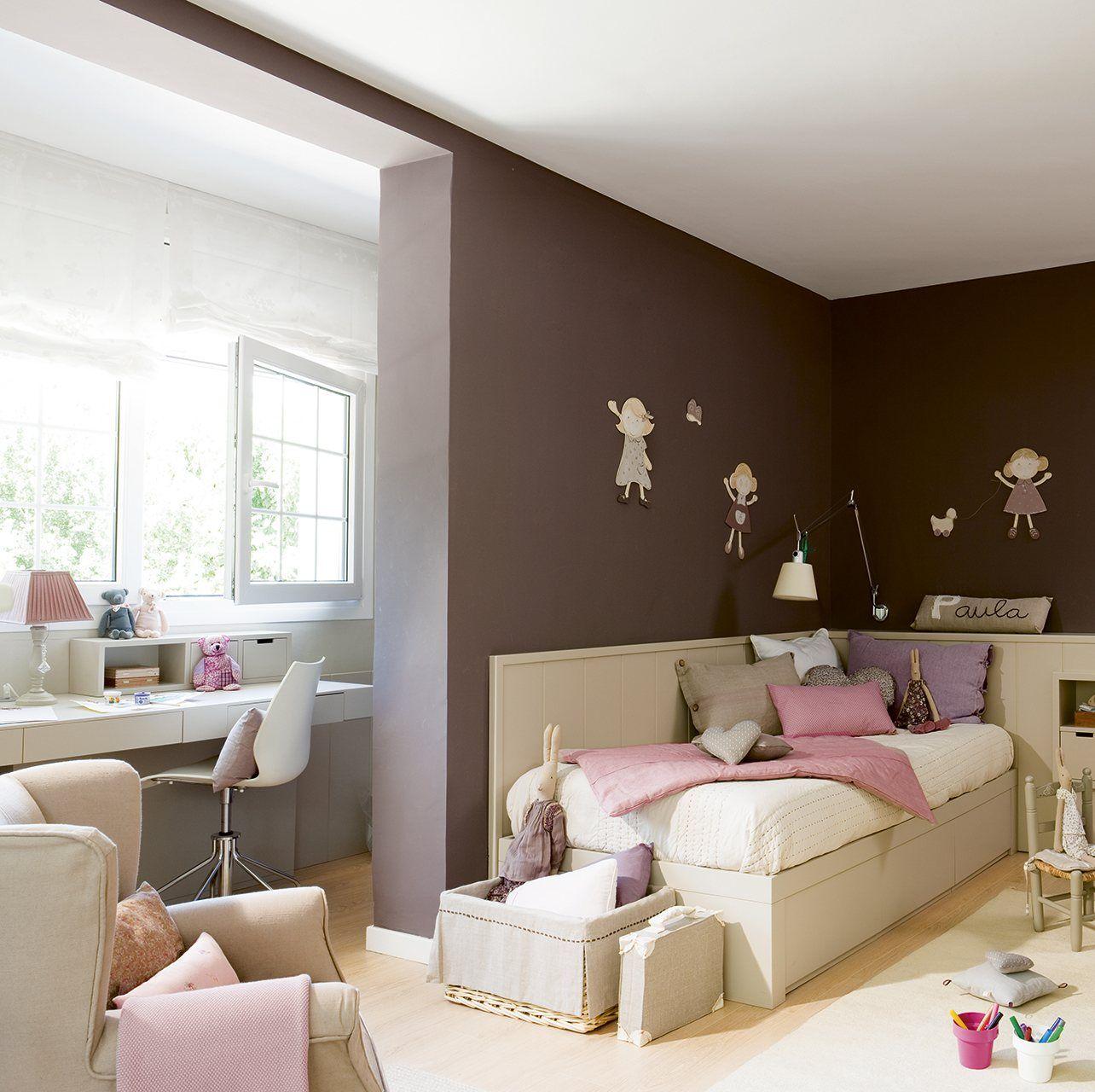 Transforma Tu Casa Con La Pintura Elmueble Com Escuela Deco  ~ Pintura Para Habitaciones Infantiles
