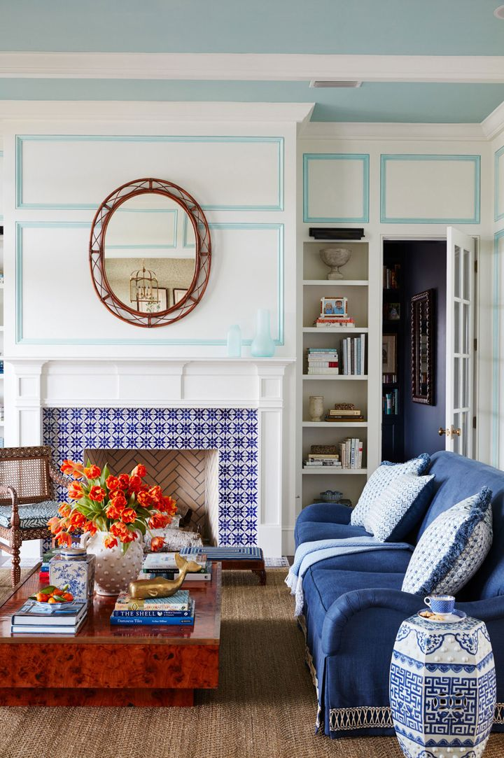 Andrew Howard Interior Design House Of Turquoise Blue And