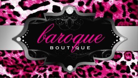 Luxury boutique hot pink leopard print business cards httpwww luxury boutique hot pink leopard print business cards httpzazzle colourmoves