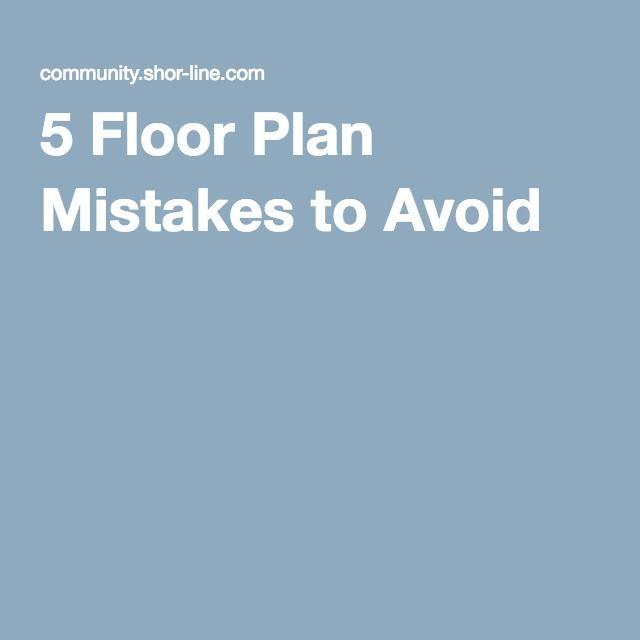 5 Floor Plan Mistakes to Avoid Clinic