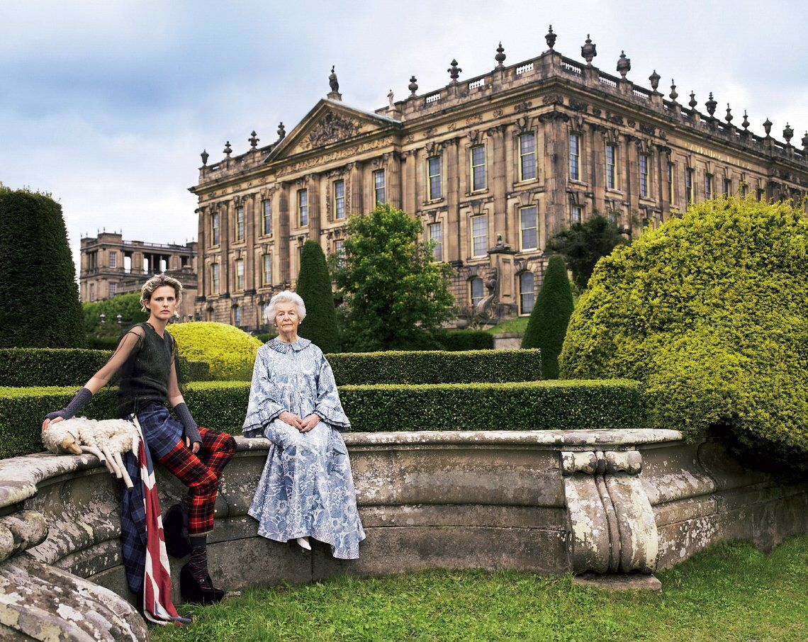 Deborah, Dowager Duchess of Devonshire, and the last