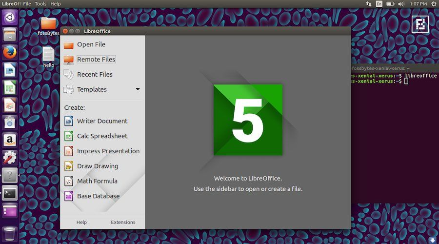 LibreOffice 521 Open Source Office Suite Released With 105 Bug - open source spreadsheet