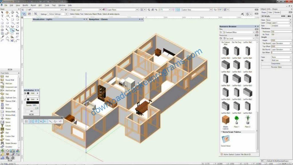 Download Cracked Vectorworks 2013 Full Software | Download