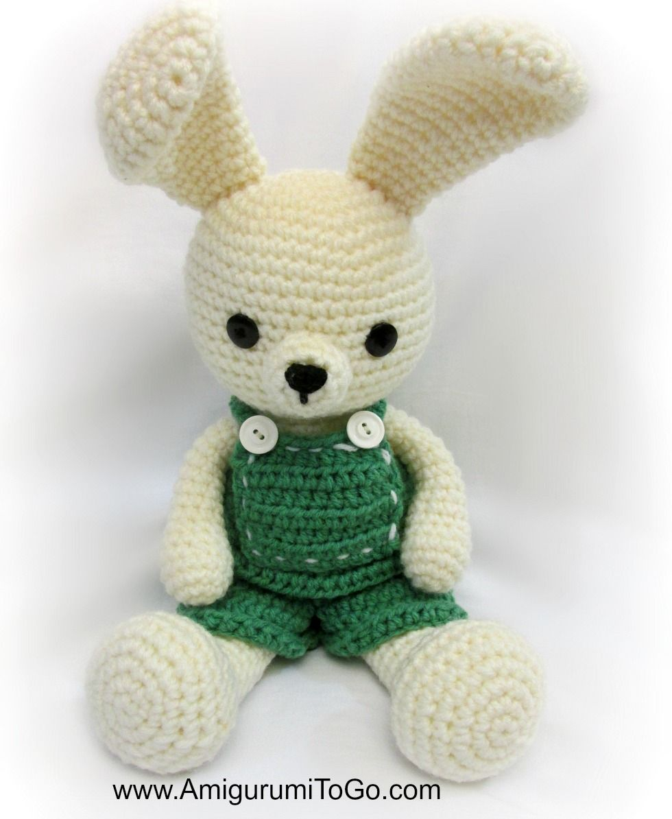 Overalls For Dress Me Bunny Boy Clothes ~ Amigurumi To Go | Julie ...