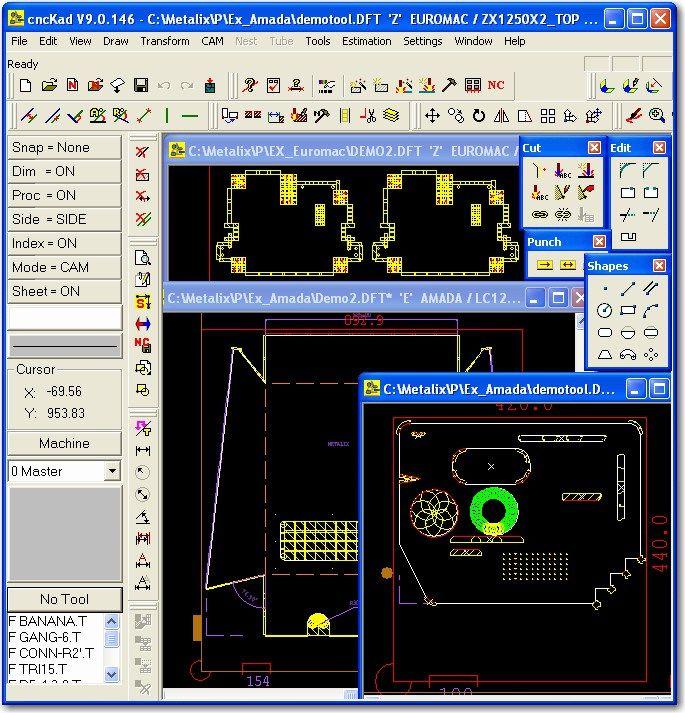 photo Working with CncKad 9 0 32bit 64bit full crack | Download in