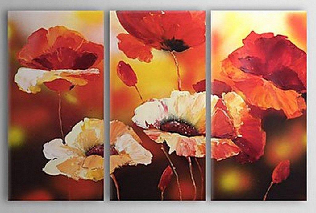Cuadros al oleo de flores grandes proyectos a intentar - Cuadros flores modernas ...