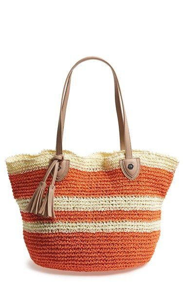 Danielle+Nicole+'Caprice'+Woven+Straw+Tote+available+at+#Nordstrom