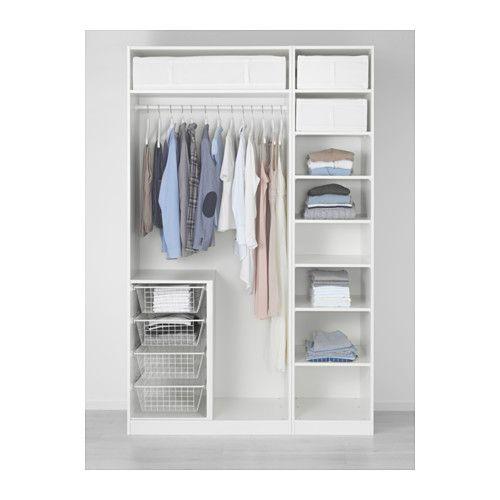 IKEA - PAX, Armoire-penderie, 150x58x236 cm, , Garantie 10 ans - Armoire Ikea Porte Coulissante