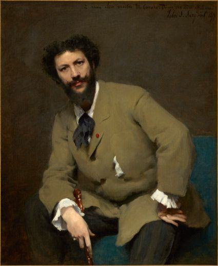 """John Singer Sargent, """"Carolus-Duran,"""" 1879. Copyright: Sterling and Francine Clark Institute, Williamstown, Massachusetts. Photo by Michael Agee"""