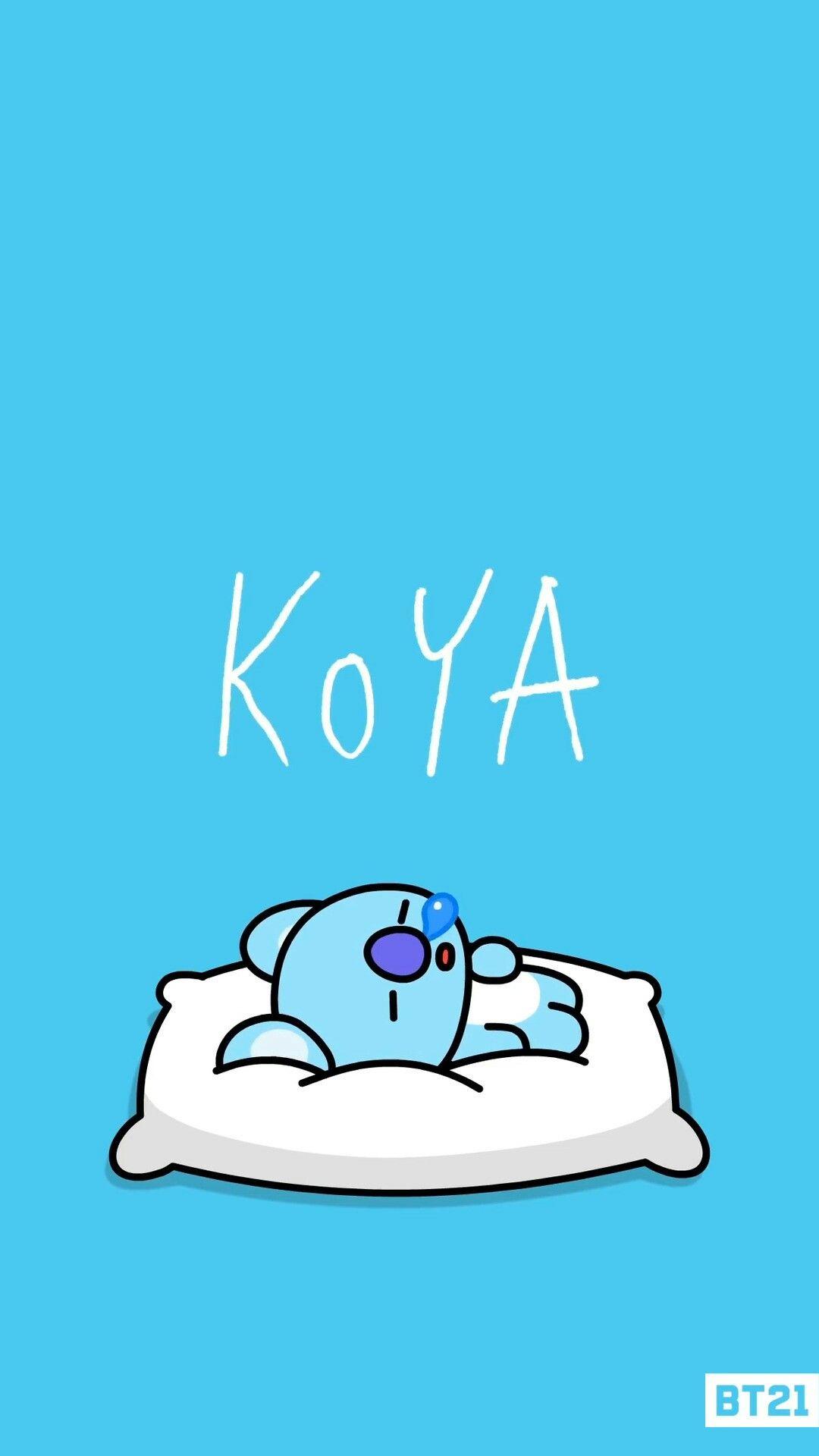 Lovely Bt21 Koya Wallpaper Japan Best Anime Image
