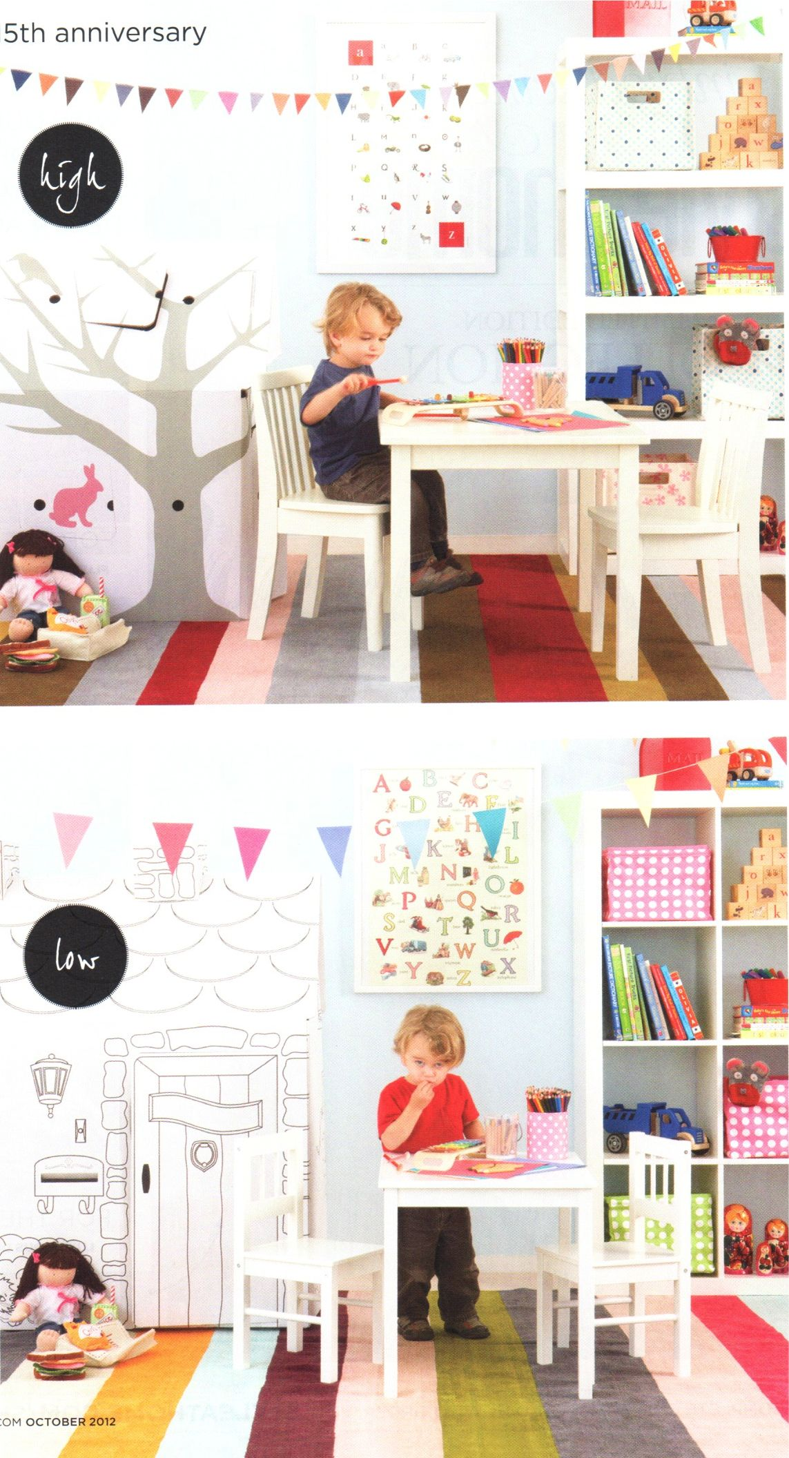 Colourful Fun Kids Playroom