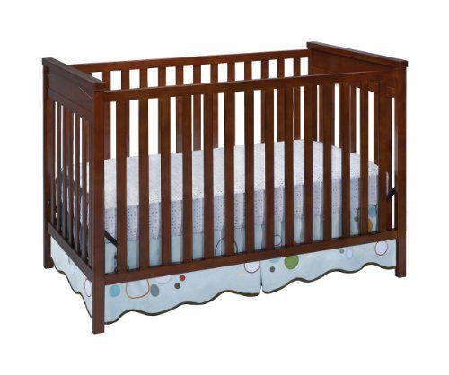 Delta Children S Products Diamond 3 In 1 Crib Dark Cherry By Delta Children S Products Delta Children Cribs Baby Makes