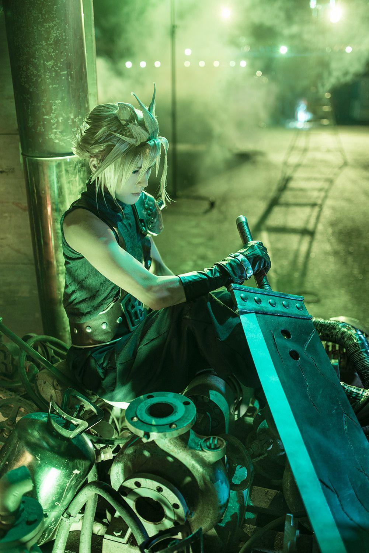ff クラウド ストライフ Kanon Final Fantasy Cosplay Final Fantasy Xi Cloud Strife Cosplay