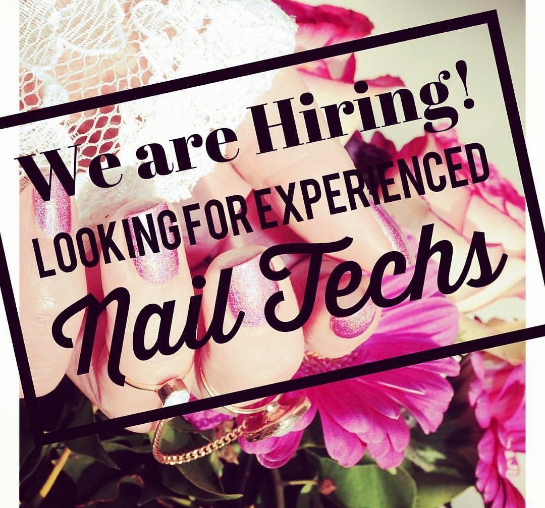 Aliciawhitehair Is Hiring Are You An Experienced Nail Tech Or Esthetician That Pionate About