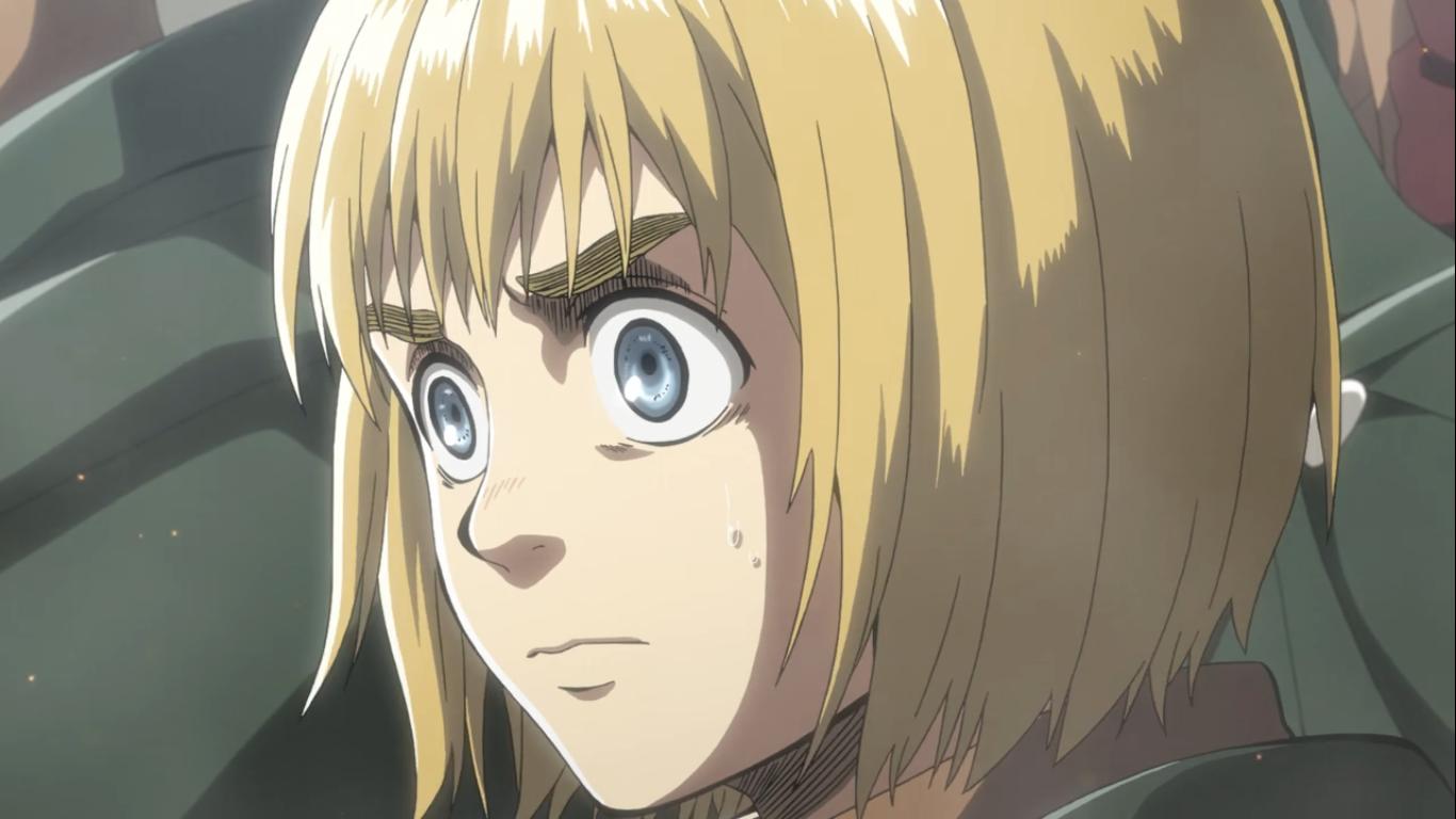 Shingeki no Kyojin Anime, Attack on titan, Armin