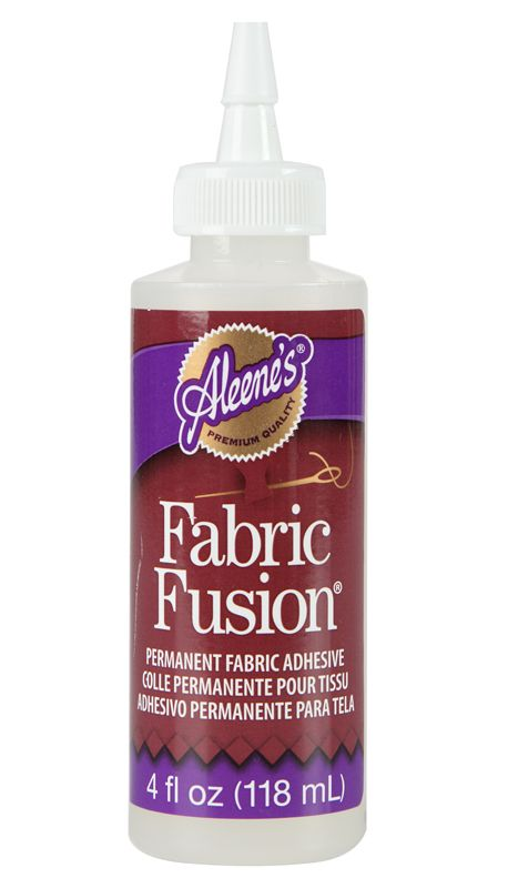 e2408dadaa90 Aleene s® Fabric Fusion® Permanent Fabric Adhesive This clear