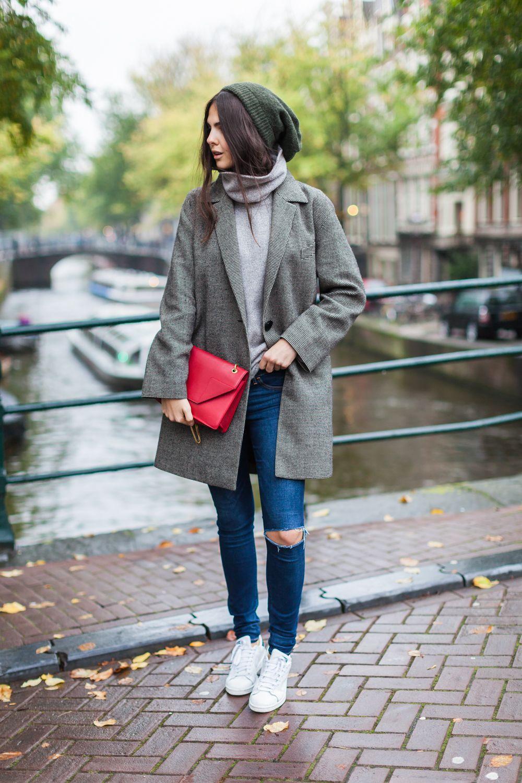 Oversized capas para usar Pinterest Stan Smith zapatillas, Adidas
