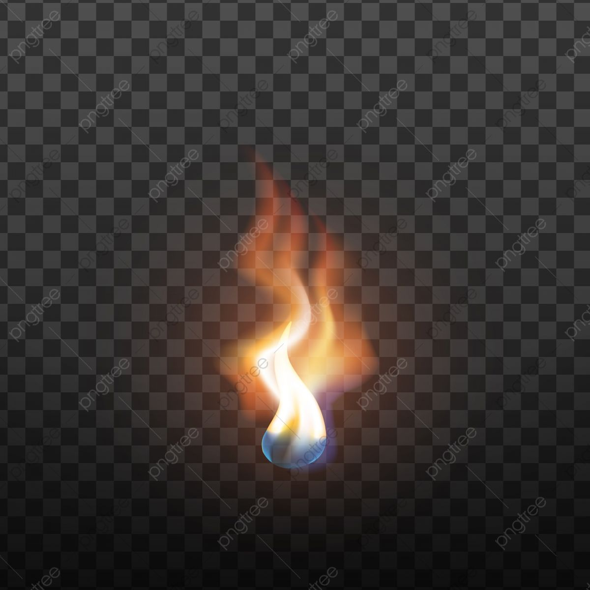 Realistic Candlelight Brush Fire Element Vector Realistic Candlelight Fire Png And Vector With Transparent Background For Free Download Fire Element Brush Fire Candlelight