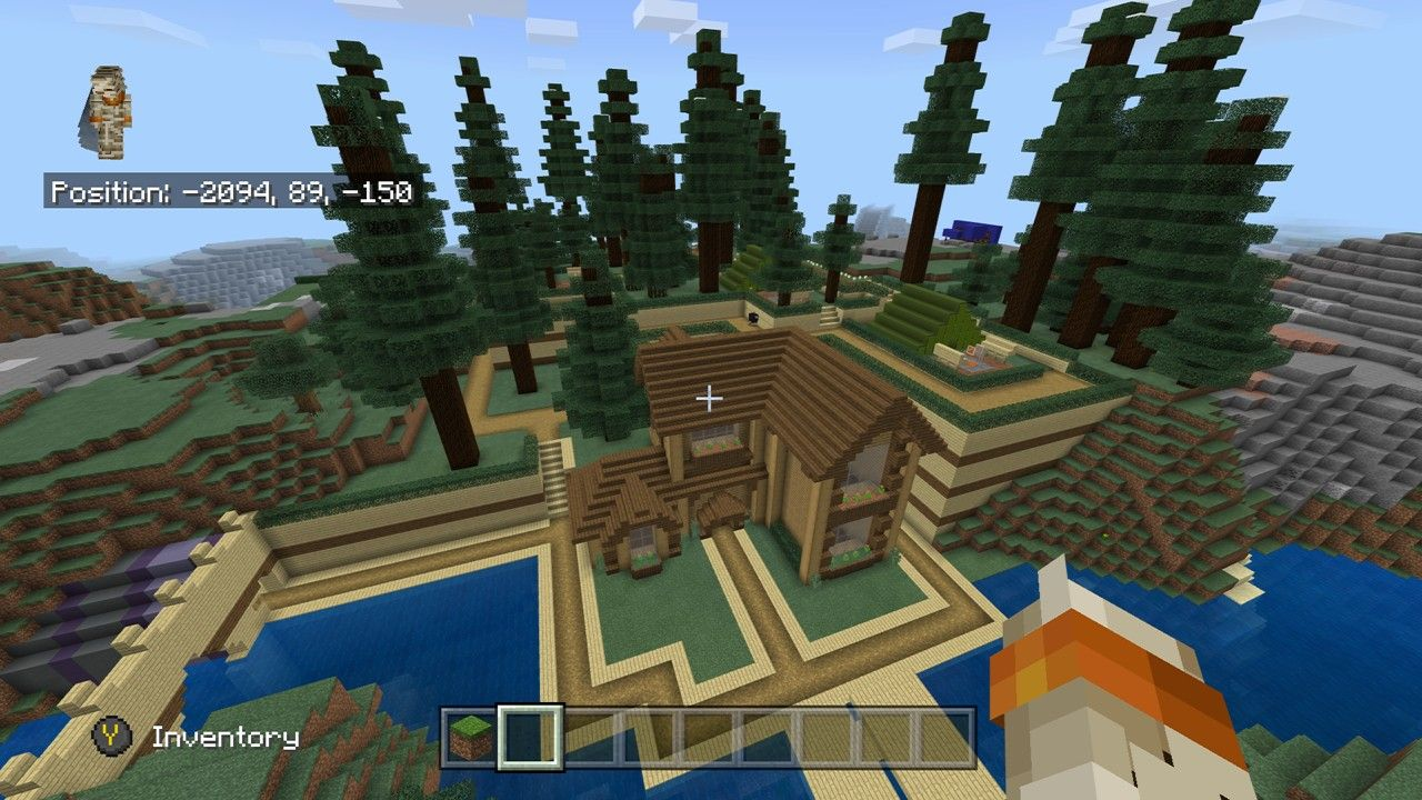 Spruce Forest House Minecraft Forest House Minecraft Houses Survival Minecraft House Designs