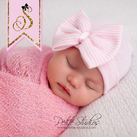 BABY GIRL HAT neonata cappello neonato bambino ragazza