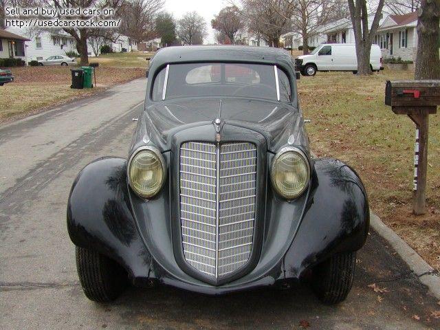 1935 Hupmobile Model O | St. Louis | rare car in good condition ...
