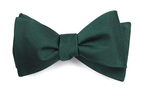 Grosgrain Solid Hunter Bow Tie Men S Bow Ties In 2020 Green Bow Tie Mens Bow Ties Grosgrain